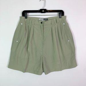 Jamie Sadock Golf Shorts Women's Size 14 Green Ple